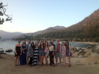 All this years placement students in Reno by the lakeside